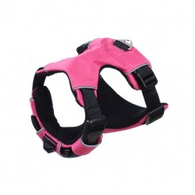 Pink Big Dog Double Pull Law Adjustable Pet Chest Straps